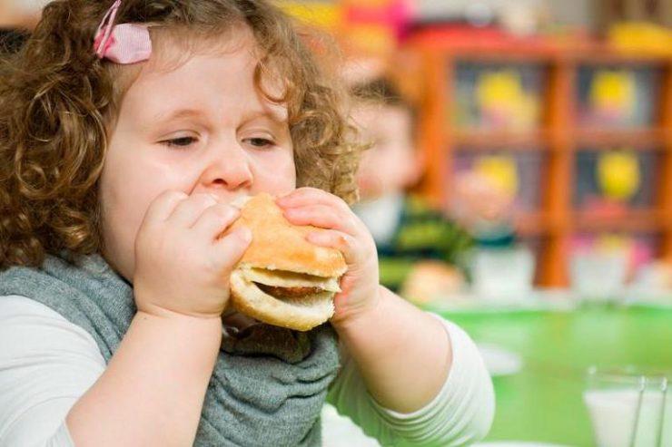 España es actualmente el cuarto país de Europa con mayor tasa de obesidad infantil